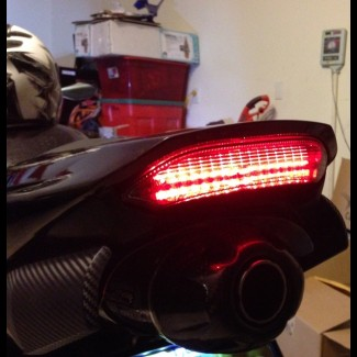Upgrade 13-16 600RR taillight to feature IT functions