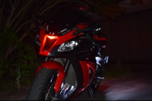 2011-2015 ZX-10R solid/Knight Rider Third Eye